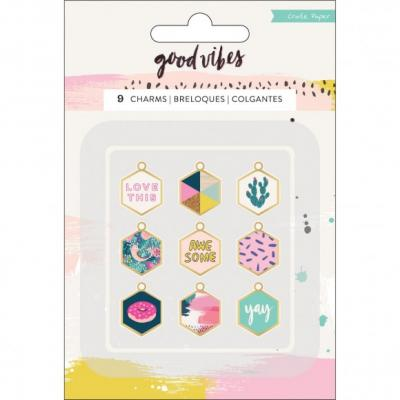 Crate Paper Good Vibes Charms