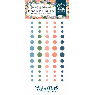 Echo Park Travelers Notebook Enamel Dots Fancy Flora