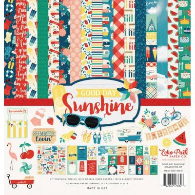 Echo Park Good Day Sunshine Designpapier - Collection Kit