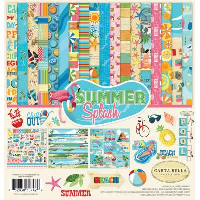 Carta Bella Summer Splash Designpapier - Collection Kit