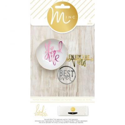 Heidi Swapp Minc Die Cut Phrases