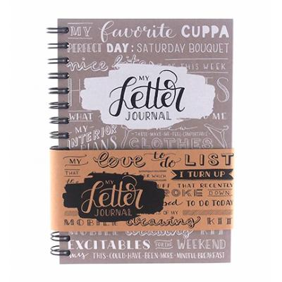 My Letter Journal - Taupe