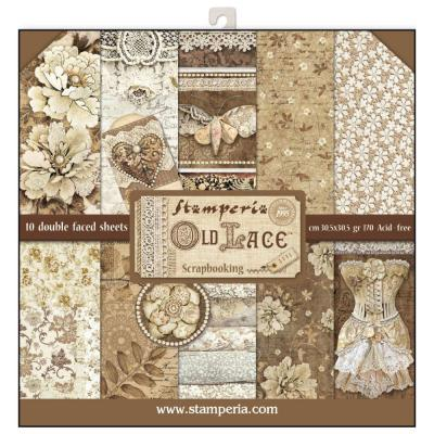 Stamperia Paper Pad - Old Lace