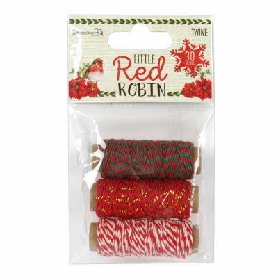 Dovecraft Little Red Robin - Little Red Robin Twine