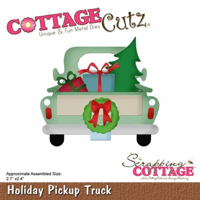 Cottage Cutz - Holiday Pickup Truck