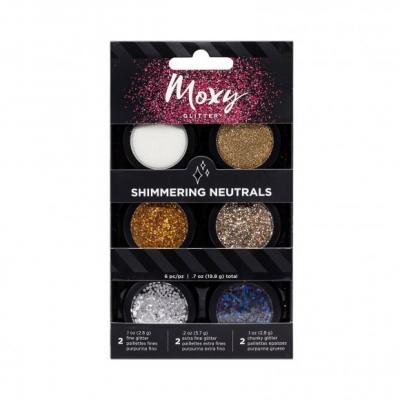 American Crafts Moxy glitter Shimmer Neutrals