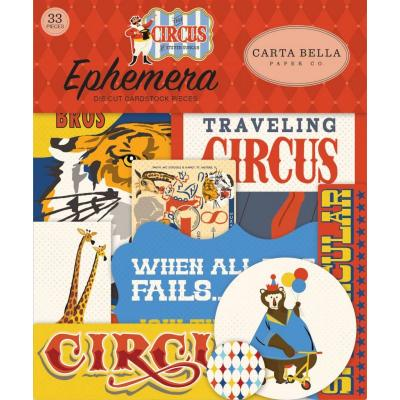 Carta Bella Circus - Ephemera