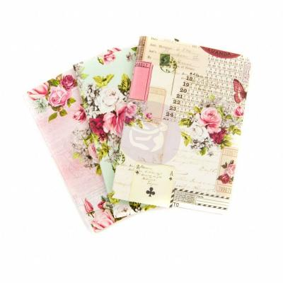 Prima Marketing Passport Notebook Inserts Misty Rose