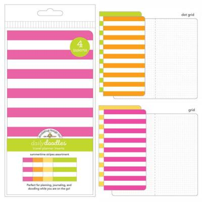 Doodlebug Einlagen - Summertime Stripes