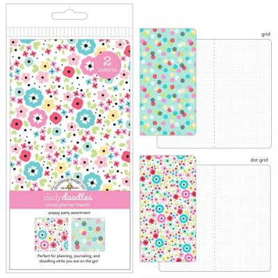 Doodlebug Einlagen - Poppy Party