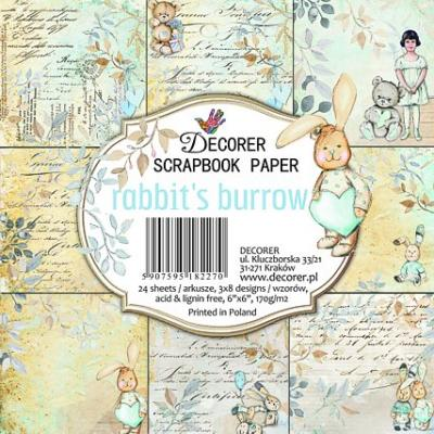 Decorer Paper Pack - Rabbit's Burrow