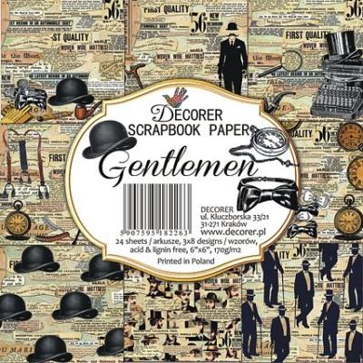 Decorer Paper Pack - Gentlemen