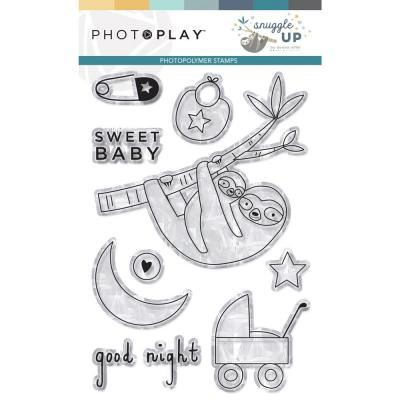 PhotoPlay Clear Stamps - Snuggle Up Boy