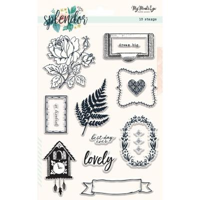 My Mind's Eye Clear Stamps - Splendor