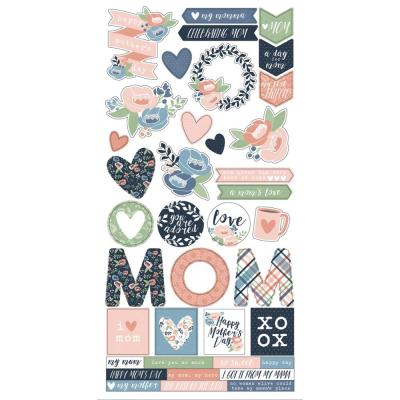 Simple Stories Mom's Day - Cardstock Stickers