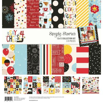 Simple Stories Say Cheese 4 Designpapier - Collection Kit