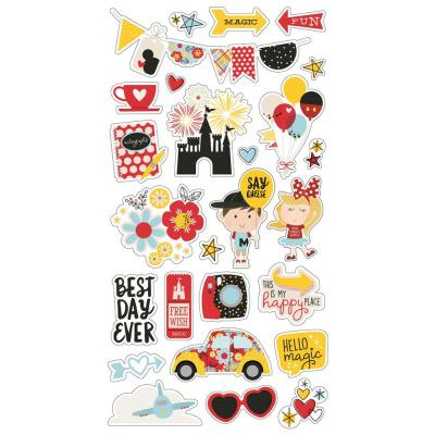 Simple Stories Say Cheese Sticker - Chipboard Stickers