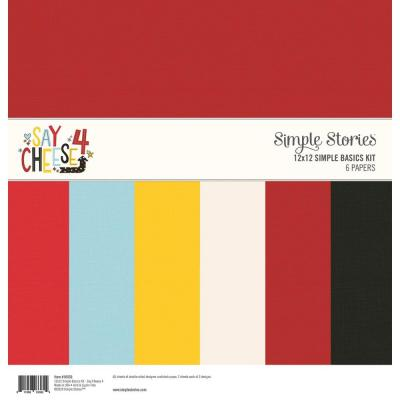 Simple Stories Basics Cardstock -