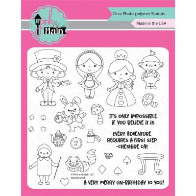 Pink & Main Clear Stamps - Wonderland