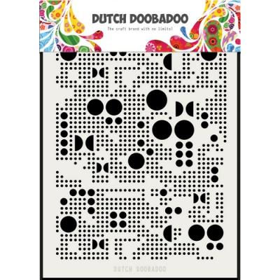 Dutch Doobadoo Schablone - Various Dots