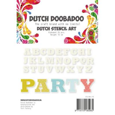 Dutch Doobadoo Schablone - Party