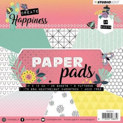 Studio Light Create Happiness - Paperpad Mint