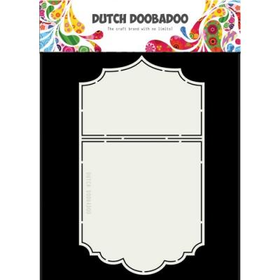 Dutch Doobadoo Schablone - Ticket