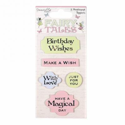 Dovecraft Fairy Tales - Sentiment Toppers