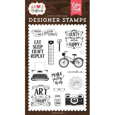 Echo Park Clear Stamps - I Heart Crafting