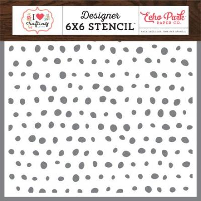 Echo Park I Heart Crafting - Paint Dots