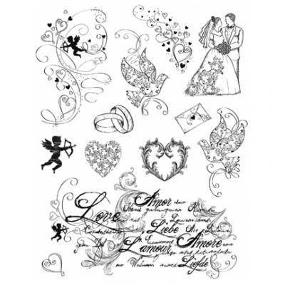 Viva Decor Clear Stamps - Love
