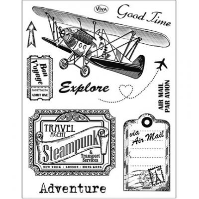 Viva Decor Clear Stamps - Adventure