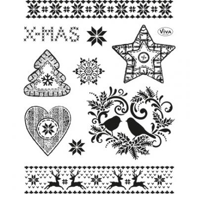 Viva Decor Clear Stamps - Weihnachtsmotive II