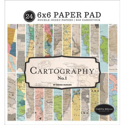 Carta Bella Cartography No.1 - Paper Pad