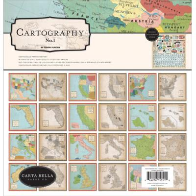 Carta Bella Cartography No.1 - Collection Kit