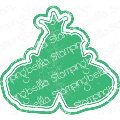 Stamping Bella Cut It Out Dies - Oddball Frog Prince