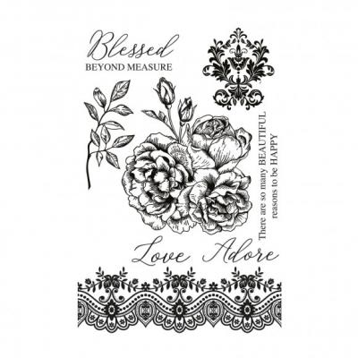 Kaisercraft Clear Stamps - Rosabella