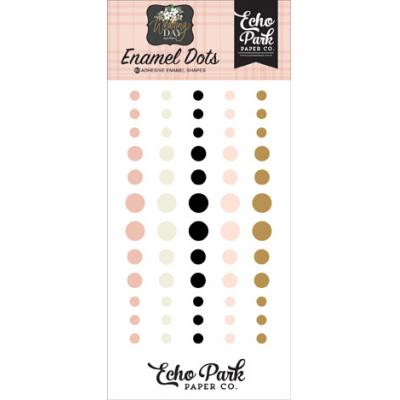 Echo Park Wedding Day - Enamel Dots