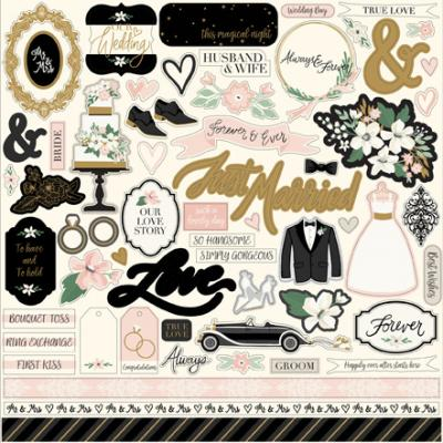 Echo Park Wedding Day - Element Sticker