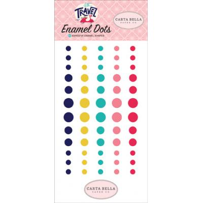 Carta Bella Let's Travel - Enamel Dots