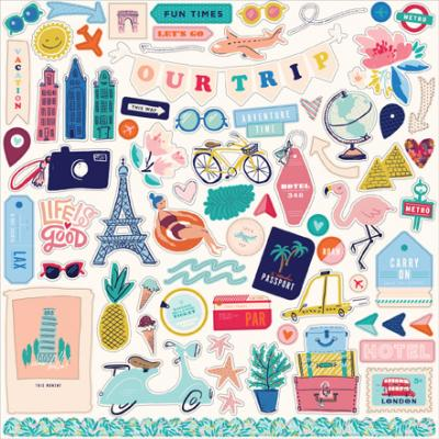 Carta Bella Let's Travel - Element Sticker