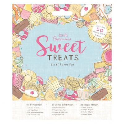 Papermania Paper Pad - Sweet Treats