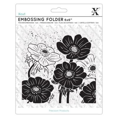 Xcut Embossing Folder - Bloom Helleborus