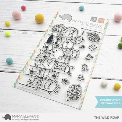 Mama Elephant Clear Stamps - The Wild Roar