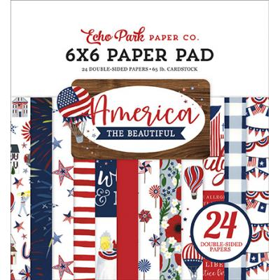 Echo Park America The Beautiful Designpapier - Paper Pad