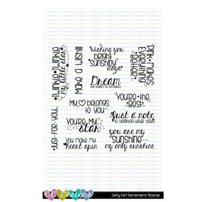 C.C.Designs Clear Stamps - Girly Girl