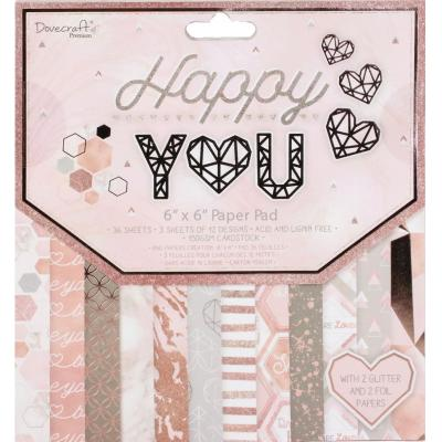 Dovecraft Happy You - Paper Pad