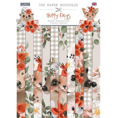 The Paper Boutique  Happy Days - Paper Pad