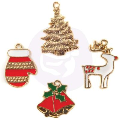 Prima Marketing - Enamel Charms - Christmas In The Country