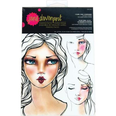 Jane Davenport - Face Charts - Came Saw Contoured
